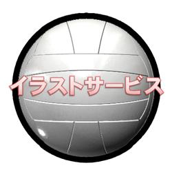 000バレーボールA001