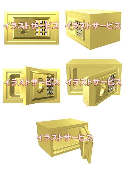 000提案 ゴールド金庫001-005